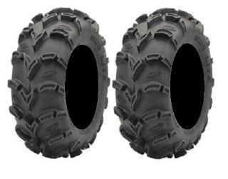 Pair of ITP Mud Lite XL (6ply) ATV Tires 26x10 12 (2) Automotive