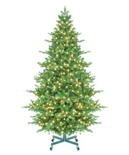Tahoe Instant Shape Pre Lit LED Full Christmas Tree   Christmas Trees