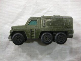 Green 10 Wheel Mobile Military Command Unit Matchbox Car Diecast Collectibles 164 Scale Toys & Games
