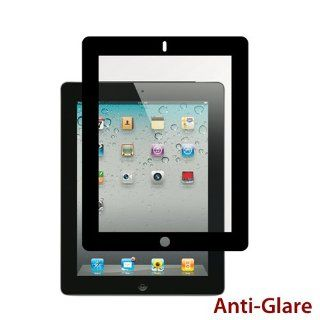 Apple iPad 2   3 Premium Anti Glare Black Bubble Free LCD Screen Protector Cover Guard Shield Film   1 Pack Computers & Accessories