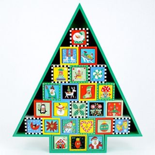One Hundred 80 Degrees Tree CE Advent Calendar   Decorative Accents