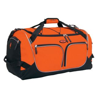 Travelers Club 26 in. Parkour Collection Weekender Duffel Bag   Orange   Sports & Duffel Bags