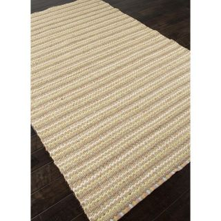 Jaipur Andes Cornwall Natural Solid Pattern Jute/Cotton Rug   Area Rugs
