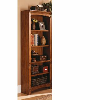kathy ireland Mission Hills Wood Bookcase   Bookcases