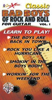 Songxpress Classic Bad Boys of Rock & Roll 1 [VHS] Guitar Instruction Movies & TV