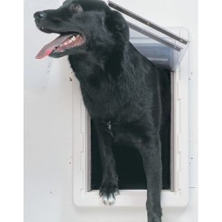 Ideal Perfect Pet All Weather Wall Dog Door   Gates & Doors