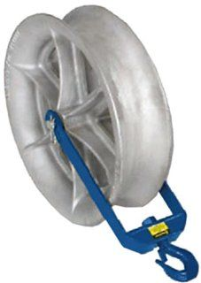 Current Tool 824 8000 Pound Capacity 24 Inch Diameter HD Hook Sheave