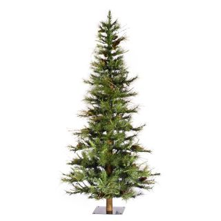 6 ft. Ashland Unlit Ashland Fir Christmas Tree with Wood Trunk   Artificial Christmas Trees