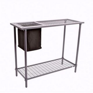 Garden Utility/Potting Table with Wire Mesh Top   Potting Benches
