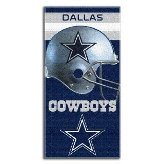 "Dallas Cowboys NFL Fiber Reactive Beach Towel (Banner Series) (60x30"")  Sports & Outdoors"