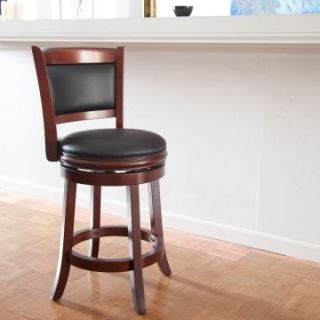 Boraam Augusta 24 in. Swivel Counter Stool   Bar Stools