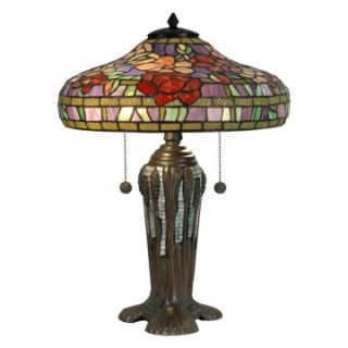 Dale Tiffany Peony Tiffany Replica Table Lamp   14.75W in.   Table Lamps