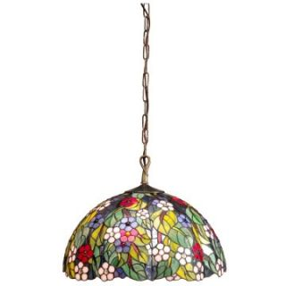 Dale Tiffany Hargreaves Downlight Fixture Pendant   Tiffany Ceiling Lighting