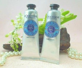 L'occitane 20% Shea Butter Hand Cream for Dry Skin   1 Oz / 30 Ml   Lot of 2  Beauty