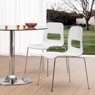 Escape 5 pc. Round Glass Dining Table Set   Dining Table Sets