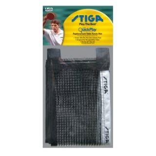 Stiga QuickPlay Replacement Table Tennis Net   Table Tennis Equipment