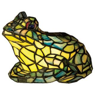 Meyda Tiffany Frog Accent Lamp Small   Table Lamps