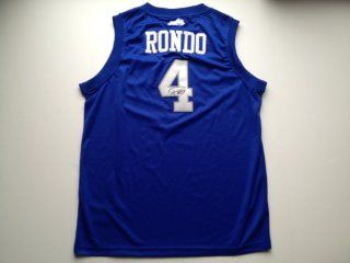 Kentucky Wildcats RAJON RONDO Signed Autographed Jersey COA PROOF Sports Collectibles