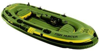 "Sevylor 9'2"" Fish Hunter Inflatable Boat  Open Water Inflatable Rafts  Sports & Outdoors"