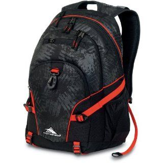 High Sierra Loop Backpack, Black Treads/Red Line, 19x13.5x8.5 Inch Sports & Outdoors