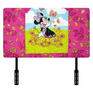 "Disney Mickey Mouse Clubhouse ""Minnie Mouse Cuddly Cuties"" Upholstered Twin Headboard   Headboards"