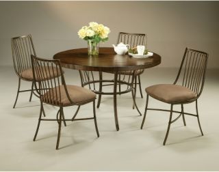 Pastel Victoria 5 piece Wood Top Dining Table Set   Dining Table Sets