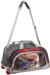 Disney By Heys Luggage Disney Burning Up The Track 18 Inch Soft Side Rolling Duffel Bag, Cars, One Size Clothing