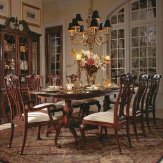 American Drew Cherry Grove 45th 9 piece Pedestal Dining Table Set   Dining Table Sets