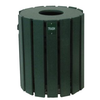 20 Gallon Cylinder Trash Receptacle