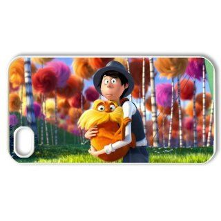 Cartoon the Lorax Plastic iPhone 4/4s Case Hard Case for iPhone 4/4s Cell Phones & Accessories