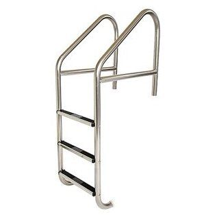 S.R. Smith 30'' Commercial Ladder Marine Grade 3 Step with cross brace  Swimming Pool Ladders  Patio, Lawn & Garden