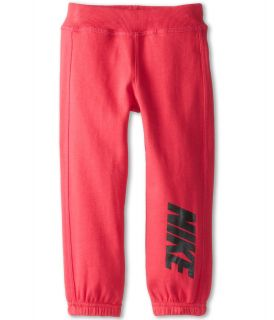 Nike Kids Nike Fleece Pant Girls Casual Pants (Pink)