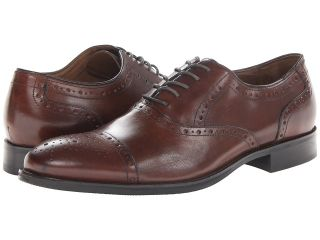 Johnston & Murphy Tyndall Cap Toe Mens Lace Up Cap Toe Shoes (Burgundy)