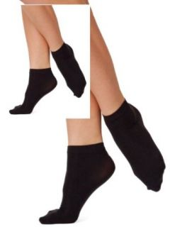 American Apparel Opaque Ankle Sock (2 Pack)   Black / One Size Clothing