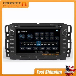 2007 2009 Suzuki XL 7 Pontiac Torrent Saturn Outlook Chevy Equinox 2008 2009 Saturn VUE Hummer H2 2007 2013 Chevrolet Impala Silverado Tahoe Avalanche Suburban GMC Sierra Yukon In Dash DVD GPS Navigation Stereo Satellite XM Radio Bluetooth AV Receiver CD P