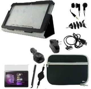 BIRUGEAR 10 Items Accessories Bundle Kit for Samsung Galaxy Tab 2 P5100 / P5110 (10.1inch) Android Tablet Computers & Accessories