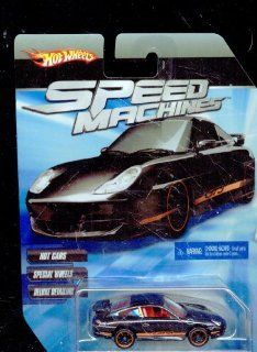 Hot Wheels Speed Machines Porsche 911 GT3 Road BLACK 164 Scale Toys & Games