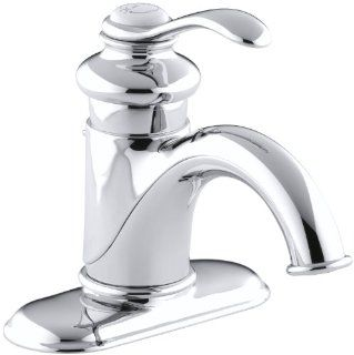 KOHLER K 12181 CP Fairfax Single Control Lavatory Faucet, Polished Chrome   Touch On Bathroom Sink Faucets