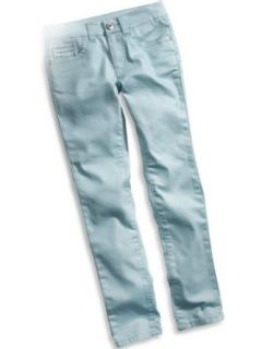 GUESS Kids Girls big girl allover shimmer denim leggings Clothing