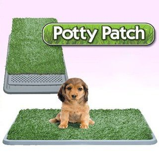 Fuloon New Pet Park Indoor Pet Potty Patch Mat Dog Grass Trainning Pad Indoor Restroom Toilet for Pet Puppy Dogs or Other Pet 3 Layers