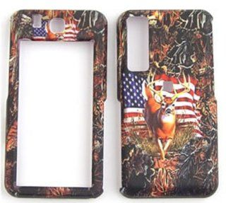 Samsung Behold T919��Camo Camouflage Hunter Series Deer & USA Flag� Hard Case/Cover/Faceplate/Snap On/Housing/Protector Cell Phones & Accessories