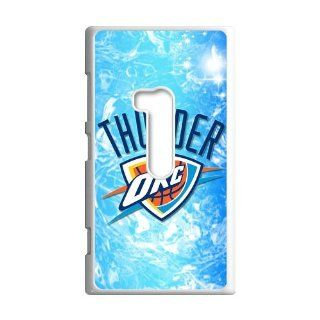 DIY Waterproof Protection NBA Oklahoma City Thunder Team Logo Case Cover For Nokia Lumia 920 0226 01 Cell Phones & Accessories