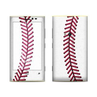 Baseball Design Protective Decal Skin Sticker (Matte Satin Coating) for Nokia Lumia 920 Cell Phone Cell Phones & Accessories