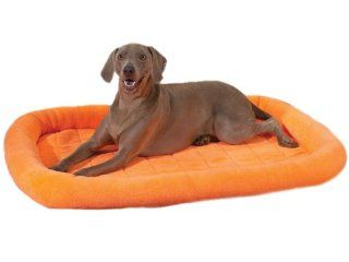 Slumber Pet Velvet Terry Crate Dog Bed, X Large, Nectarine