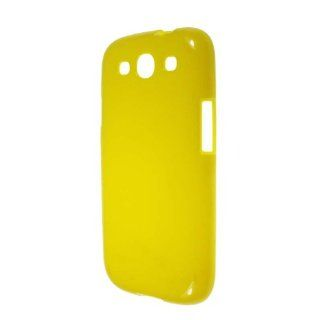 niceEshop(TM) Yellow Gloss Soft Flexible TPU Case Cover fit for the New Samsung Galaxy S3 i9300 +Screen Protector Cell Phones & Accessories