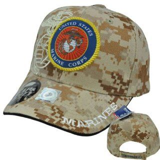 US Marines Corps Few Proud Military USA Digital Camo Camouflage Licensed Hat Cap  Sports Related Merchandise  Sports & Outdoors