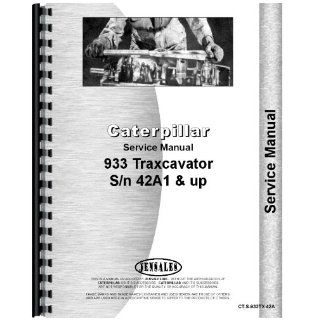 Caterpillar 933 Traxcavator Service Manual Jensales Ag Products Books
