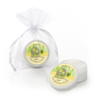 Turtle   Personalized Birthday Party Lip Balm Favors Toys & Games