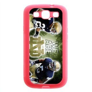 Notre Dame Fighting Irish Colorful Case for Samsung Galaxy S3 I9300, I9308 and I939 sports3samsung C058 Cell Phones & Accessories