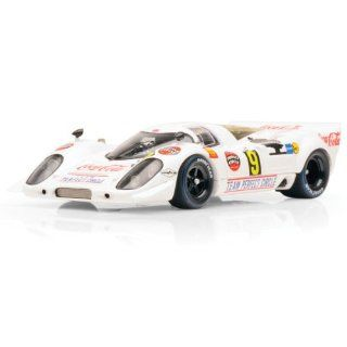 1969 Porsche 917 Kyalami 9hr Team Perfect Circle / CocaCola Diecast Model Car in 143 Scale by True Scale Miniatures Toys & Games